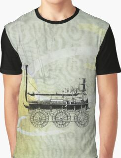 Vintage Steam Train nº4 Graphic T-Shirt