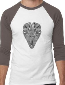 Psychedelic Orus Men's Baseball ¾ T-Shirt