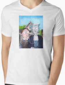 Wubba Lubba Dub Dub Mens V-Neck T-Shirt
