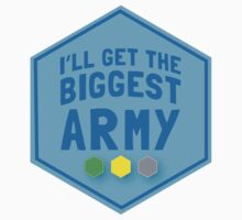 I'll get the biggest ARMY  Baby Tee