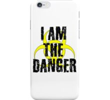 Breaking Bad Quote I am the danger Walter White TV Quote Cool Badass iPhone Case/Skin