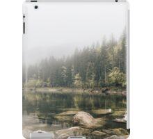 Pale lake - landscape photography iPad Case/Skin