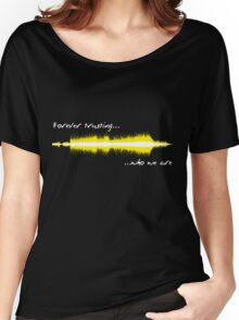 Sound WAV - Metallica Women's Relaxed Fit T-Shirt