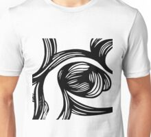flower #1 in B&W Unisex T-Shirt