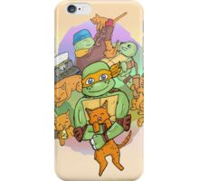 Tmnt Mikey and klunk iPhone Case/Skin