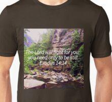 Exodus 14:14 Unisex T-Shirt
