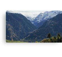 Vals, Switzerland Canvas Print