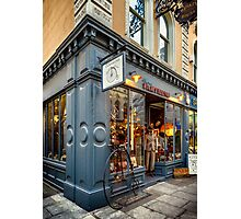 Penny Farthing Shop Photographic Print