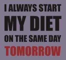 Diet Tomorrow Kids Tee