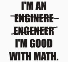 Engineer Good With Math Baby Tee