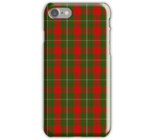 Clan MacGregor Tartan iPhone Case/Skin