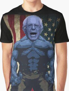 Bernie Sanders - superhero version Graphic T-Shirt
