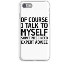Funny Life Wisdom Cool Joke Comedy Ironic iPhone Case/Skin