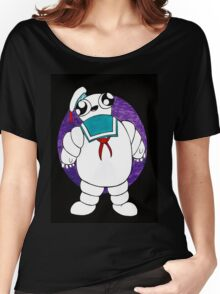 Mr Stay puft marshmallow man Women's Relaxed Fit T-Shirt