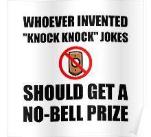 Knock Knock Joke No Bell Poster