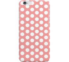 Polka Dots pattern in colours iPhone Case/Skin