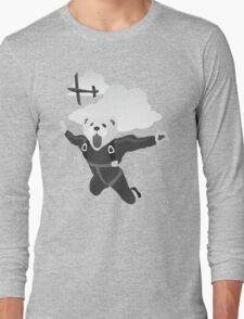 Impractical Jokers Murr Ferret Skydive Funny Fan Art Unofficial Long Sleeve T-Shirt