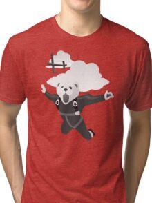 Impractical Jokers Murr Ferret Skydive Funny Fan Art Unofficial Tri-blend T-Shirt