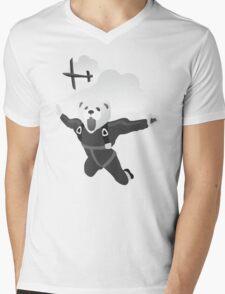 Impractical Jokers Murr Ferret Skydive Funny Fan Art Unofficial Mens V-Neck T-Shirt