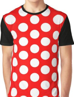 Polka Dots  Minnie pattern Graphic T-Shirt