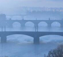 Bridges of Vltava - Prague Sticker
