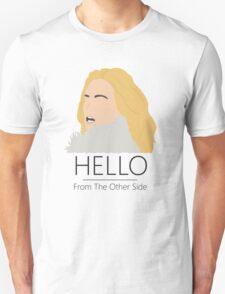 Adele Hello 25 Singer Artist Fan Art Unofficial Music Design Unisex T-Shirt