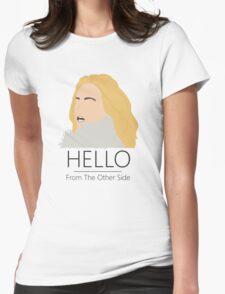 Adele Hello 25 Singer Artist Fan Art Unofficial Music Design Womens Fitted T-Shirt
