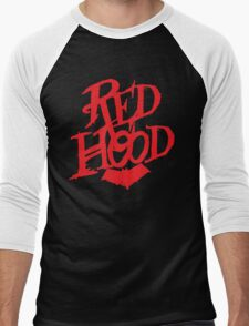 Red Hood  Men's Baseball ¾ T-Shirt