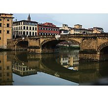 Postcard from Florence  Photographic Print