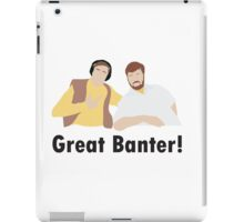 Alan Partridge Mid Morning Matters North Norfolk Radio Steve Coogan Fan Art Unofficial Funny iPad Case/Skin