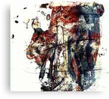 Crucifixion II 1, Christ in Fury Canvas Print