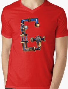 G is for Gear Head Mens V-Neck T-Shirt