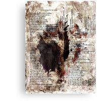Belladonna, The Lady of The Rocks Canvas Print