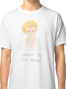 Justin Bieber What Do You Mean Fan Art Unofficial Music  Classic T-Shirt