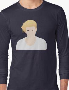Justin Bieber What Do You Mean Fan Art Unofficial Music  Long Sleeve T-Shirt