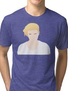 Justin Bieber What Do You Mean Fan Art Unofficial Music  Tri-blend T-Shirt