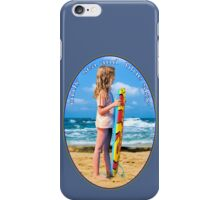 only  sea and  blue sky for me iPhone Case/Skin