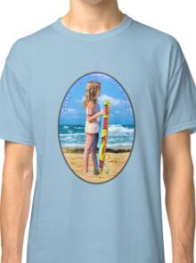 only  sea and  blue sky for me Classic T-Shirt