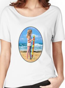 only  sea and  blue sky for me Women's Relaxed Fit T-Shirt