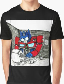 Transformers in the Office Graphic T-Shirt