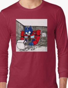Transformers in the Office Long Sleeve T-Shirt