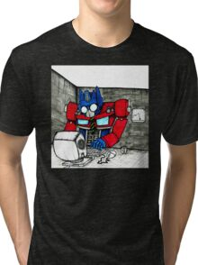 Transformers in the Office Tri-blend T-Shirt