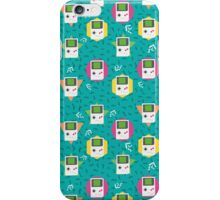 Gameboy pattern iPhone Case/Skin