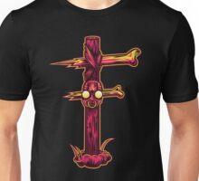 F is for Forsaken Totem Unisex T-Shirt