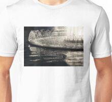 Dancing Silver Fountains Unisex T-Shirt