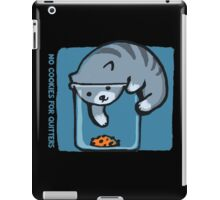 No Cookies For Quitters iPad Case/Skin