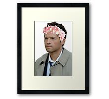 Supernatural- Castiel Framed Print