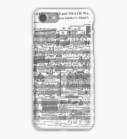 Death Waltz iPhone Case/Skin