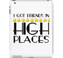 Weed Humour Marijuana Stoned Funny Wordplay Reggae Smoking Pot iPad Case/Skin