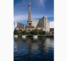 Reflecting on Paris Las Vegas Unisex T-Shirt
